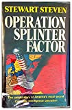 img - for Operation Splinter Factor book / textbook / text book