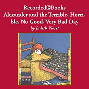 Alexander and the Terrible, Horrible, No Good, Very Bad Day Audiobook
