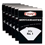 Technivorm Moccamaster 85090 Cup-One Filters Paper, White (6) ...