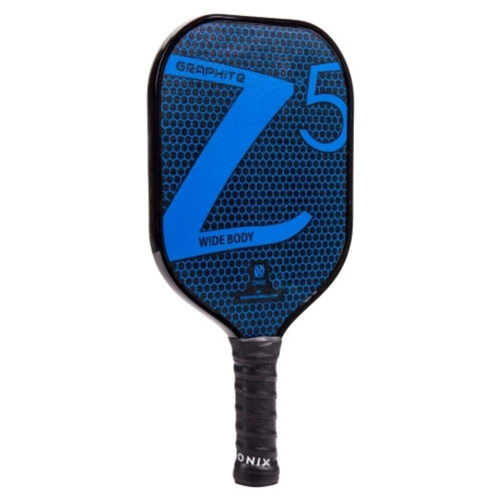 Premium Pickle Ball Equipment Set for Beginners and Professionals Onix Graphite Z5 Pickleball Paddle /& 3-Pack Fuse G2 Pickleball Balls Bundle