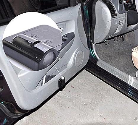 kit d/'/éclairage de bienvenue embl/ème laser lot de 2 Projecteur LED universel sans fil Soondar pour porte de voiture kit de lampes /à logo sans per/çage