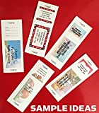 Printable Raffle and Event Tickets - 50 sheets/400 tickets! EASY Printing!