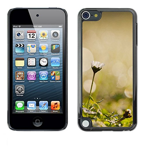 Soft Silicone Rubber Case Hard Cover Protective Accessory Compatible with Apple IPod Touch 5 - Plant Nature Forrest Flower 45
