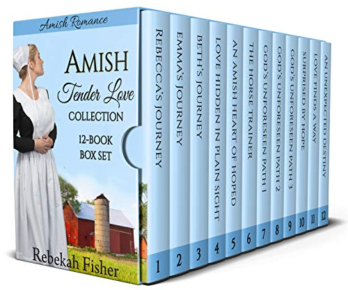 This twelve-book box set of sweet, clean, Amish romance stories contains some of the most popular books by Rebekah Fisher, including two series. Also includes two brand new, never released books! Join along with each girl as she discovers God's ultim...