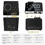 Hetyre 4.2 Inch Alarm Clock Radio, Bluetooth
