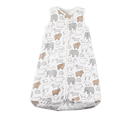 - Carter's Baby Animal Print Sleeping Bag 0-3 Months, White