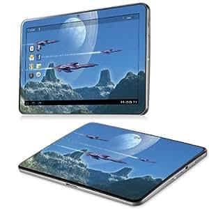B 0071-0029-0003 espacio Diabloskinz incluye protector de vinilo para Samsung Galaxy Tab 10,1