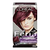 L'Oreal Paris Féria Power Violet Haircolour, V48 Intense Medium Violet