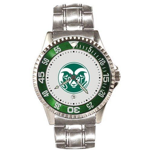 Colorado State Rams Competitor Steel Men's Watch by SunTime