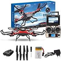 Outtop Christmas Gift JJRC H8DH 6-Axis Gyro 5.8G FPV RC Quadcopter Drone HD Camera With Monitor