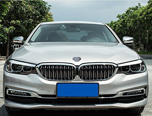 G30 530i 530e 540i M550i 2017 2018 Chrome Rear View Mirror Cover Trims Rqing For BMW New 5 SERIES Sedan
