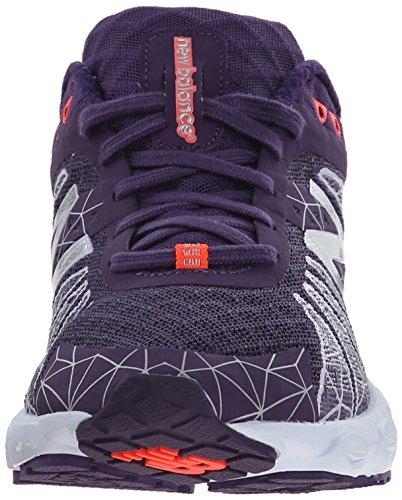 para Sintético morado de mujer Zapatillas Material en montaña Balance para New correr ZRqSSg