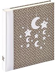 Walther Design UK-208 álbum del bebé Stars & Moon, 28 x 30,5 cm, 50 páginas Blancas, colordio