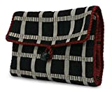 NOVICA Multicoloured Cotton Jewelry Case, Ebony Chic'