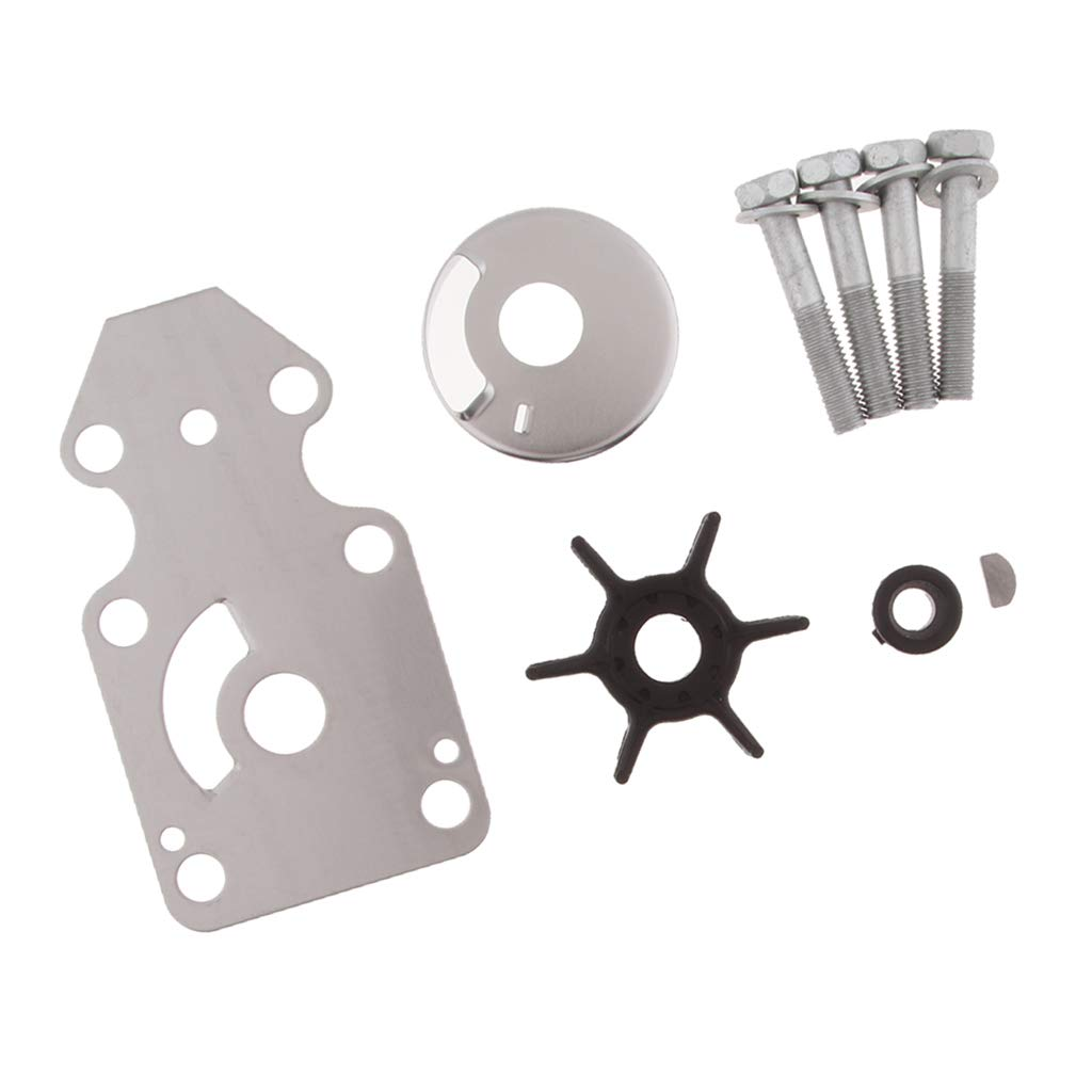Flameer Water Pump Impeller Kit Rebuild Set 63V-W0078-01 Replacement for Yamaha Outboard