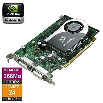 Tarjeta gráfica Nvidia Quadro FX 370 256MB GDDR2 PCI-e DVI ...