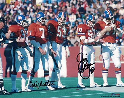 Craig Morton & Jim Ryan Autographed/Signed Denver Broncos 8x10 ()