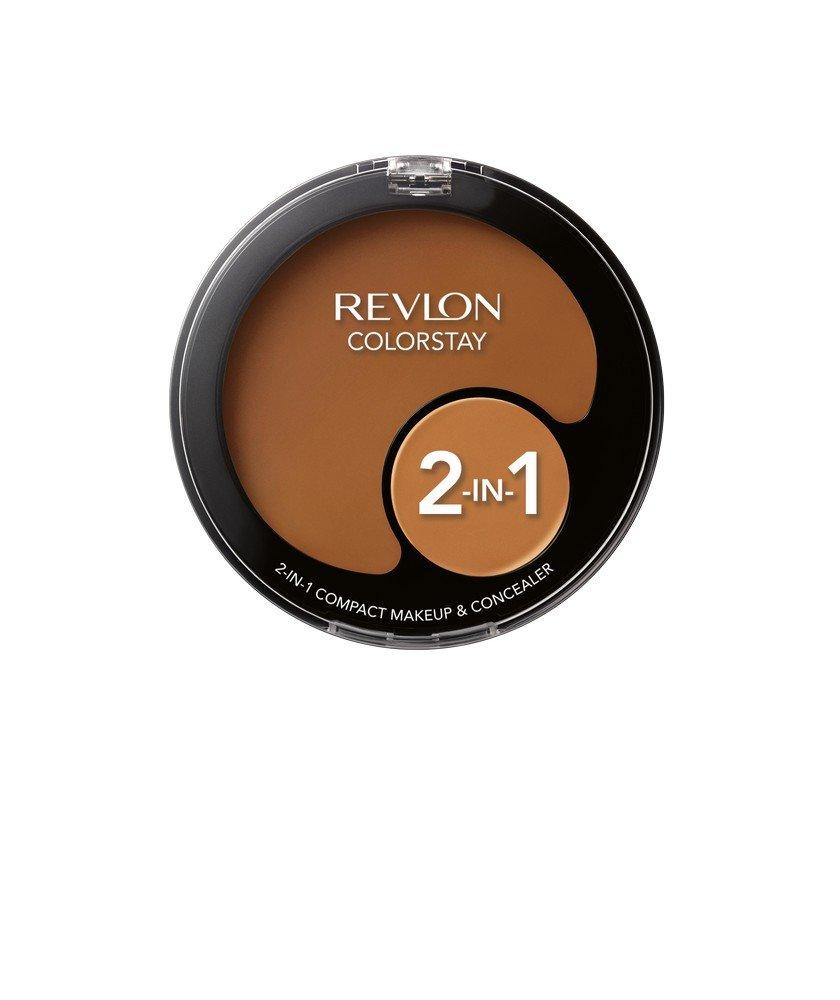 Revlon Colorstay 2-N-1 Compact Makeup and Concealer, Warm Golden, 12.3g na