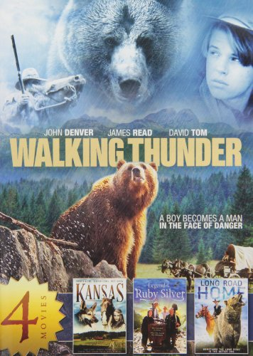 4-Movie Family Adventure Collection, Vol. 1: Walking Thunder / Kansas (1995) / Legend of the Ruby Silver / Long Road Home