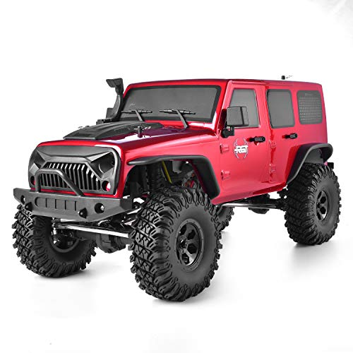 (RGT Rc Crawler 1:10 Scale 4wd RC Rock Cruiser EX86100 313mm Wheelbase Crawler Off Road Monster Truck RTR 4x4 Waterproof RC Car )