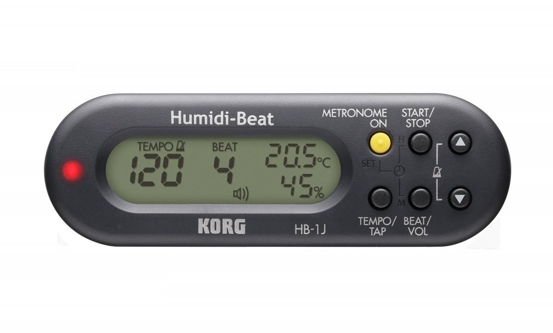 Metronome Temperature, a hygrometer includes it