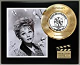 #4: I LOVE LUCY LTD EDITION SIGNATURE AND LASER ETCHED THEME SONG LYRICS DISPLAY