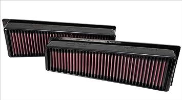 K N 33 2449 Motorluftfilter Hochleistung Prämie Abwaschbar Ersatzfilter Erhöhte Leistung 2009 2014 X5 M X6 M Auto