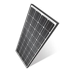 Cyclops GSM CYC-SOL130W 130 Watt 12 Volt Monocrystalline Solar Panel Battery Charger, Black