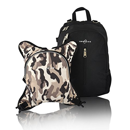 Obersee Rio Diaper Bag Backpack with Detachable Cooler, B...