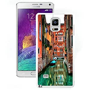 Beautiful And Unique Designed Case For Samsung Galaxy Note 4 N910A N910T N910P N910V N910R4 With Venetian Flooded Streets (2) Phone Case