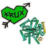 Krux Trucks Krome Phillips Head 7 Green / 1 Gold