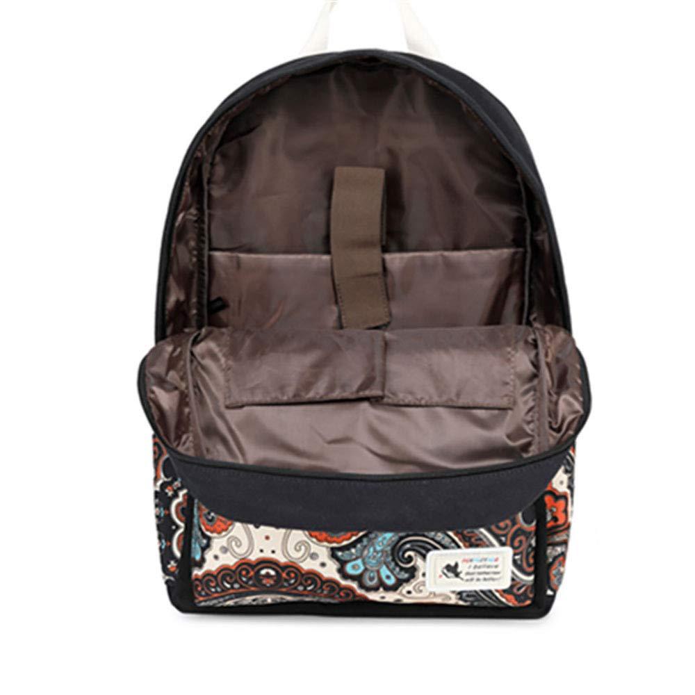 Laptop Rucksack Vintage Vintage Vintage Casual Canvas Rucksack Reiserucksack Camping Rucksack Für Frauen Schule Wandern Outdoor Casual Daypacks College Bag (15 6 Zoll),Blau B07L8W421B Daypacks Macht das Leben 99625c