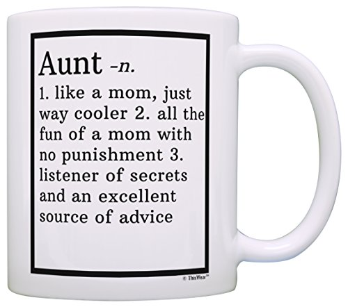 Aunt Gifts Aunt Definition Aunt Coffee Mug Aunt Coffee Cup Aunt Gift Coffee Mug Tea Cup White