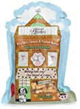 Becca's Barkery Ittty Bitty Cheese and Peanut Butter Dog Biscuits, 10-Ounce Bags (Pack of 6), My Pet Supplies