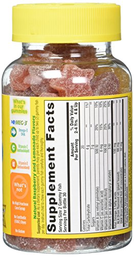 L'il Critters Omega-3 DHA, 60 Count (Pack of 2) by Lil Critters (Image #3)