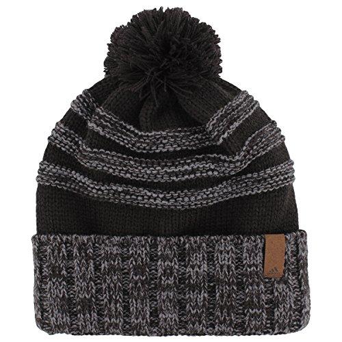 adidas Men's Recon Ballie Hat, Black/Onix, One (Adidas Winter Hat)