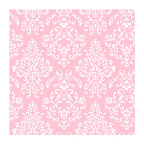 Amazon York Wallcoverings Just Kids KD1754 Delicate Document Damask Wallpaper Pink Home Improvement