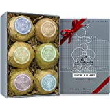 Art Naturals® Bath Bombs Mothers Day Gift Set - 6 Ultra Lush Essential Oil Handmade Spa Bomb Fizzies - Organic & Natural Ingredients & Shea Butter for Moisturizing Dry Skin - Relaxation In a Box