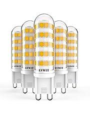 LVWIT Lampadine a LED G9,da 3.5W a 7W,Nessun Lampeggio. Non Dimmerabile