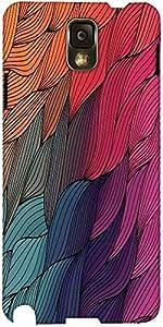 Dibujado Snoogg Vector De La Mano Abstracta Olas Textura Diseñador Funda Prot...