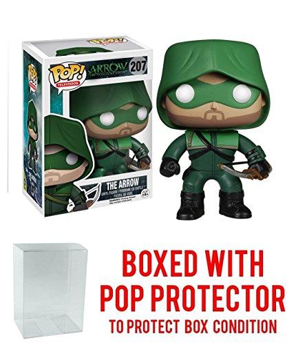 Funko Pop! TV: Arrow The Hood Action Vinyl Figure (Bundled with Pop BOX PROTECTOR CASE)