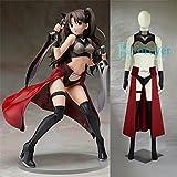 《Fate/Stay night》遠坂 凛 cosplay-サイズ選択可 (オーダーメイド)
