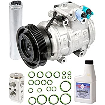 OEM AC Compressor w/A/C Repair Kit For Hyundai Tucson & Kia Sportage - BuyAutoParts 60-83460RN NEW
