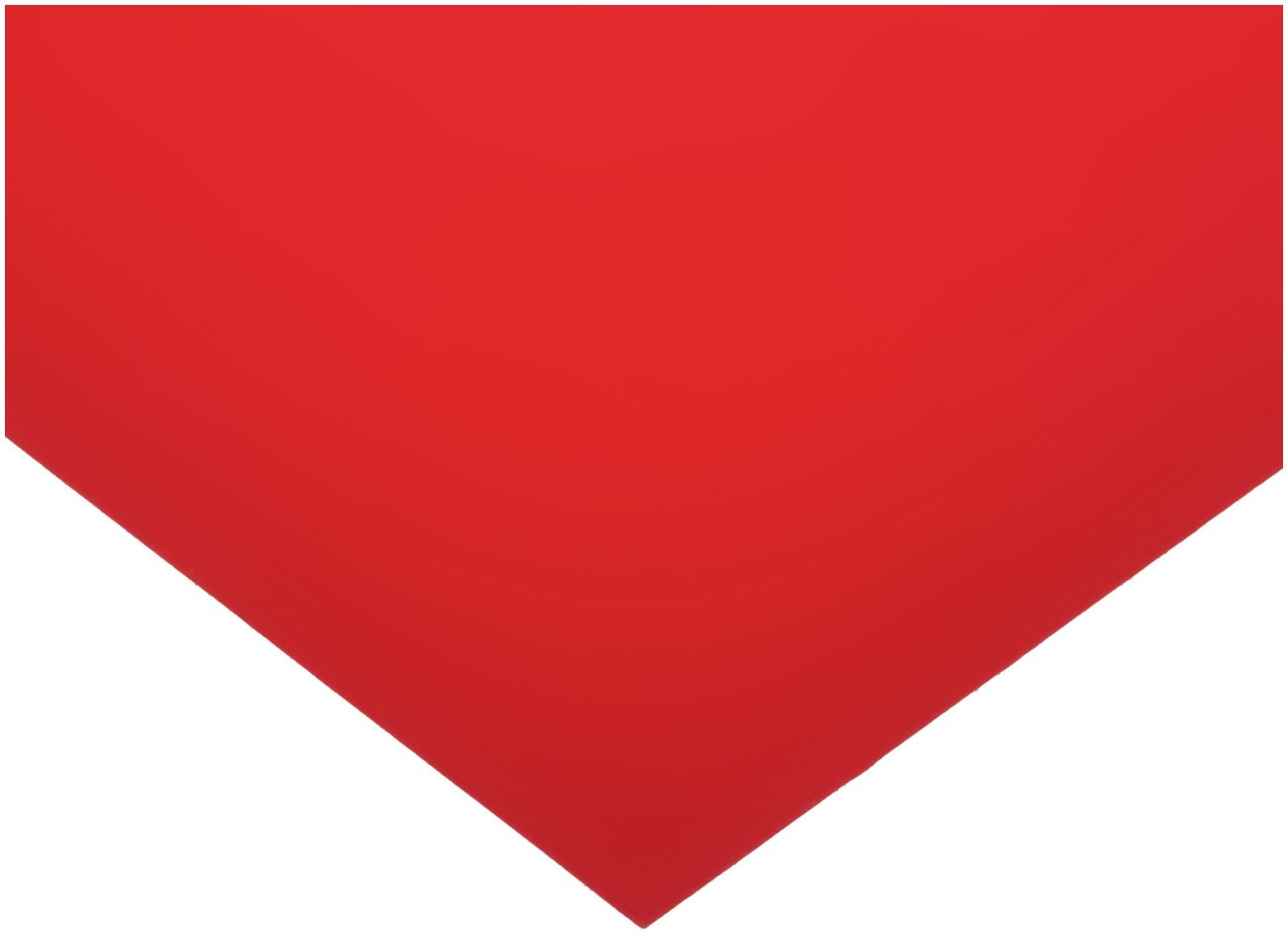 Polyester Shim Stock, Flat Sheet, Red, 0.002'' Thickness, 5'' Width, 20'' Length (Pack of 5) by Small Parts