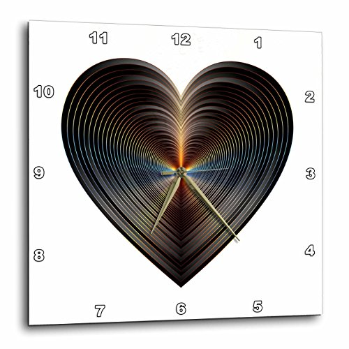 Metallic Prism Art - Image of Metallic Copper Heart -