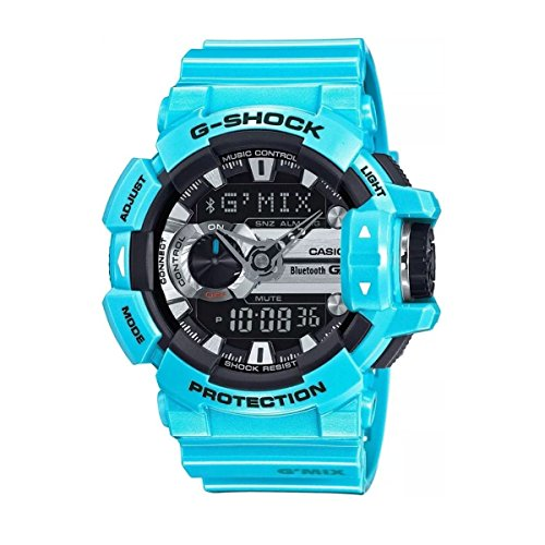 Casio G Shock Black Quartz GBA400 2C