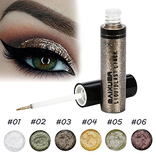 Datework Glitter Liquid Eyeliner Eye Shadow Shining Eye Makeup (#06)