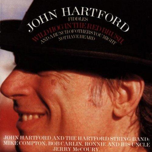 Wild Hog In The Red Brush by HARTFORD,JOHN