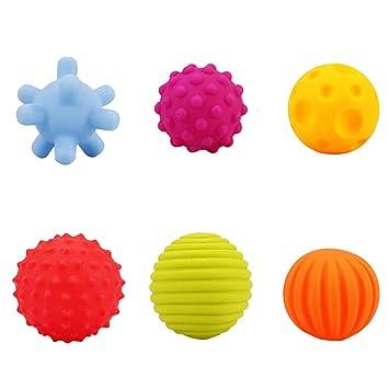 Multi bola del juguete divertido de la bola suave presión ...