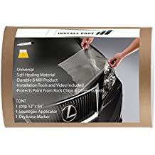 "Self Healing Universal Clear Paint Protection Bra Hood And Fender Kit (12"" x 84"")"